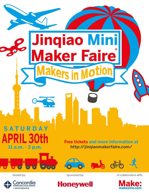 Shanghai's International school Partners -Jinqiao MiniMaker-Fair