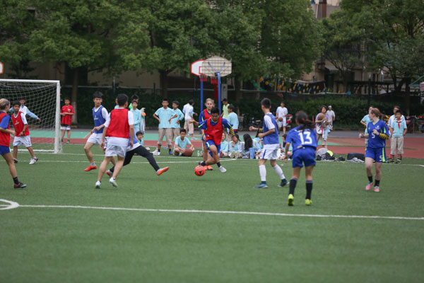 Shanghai's International school Soccer