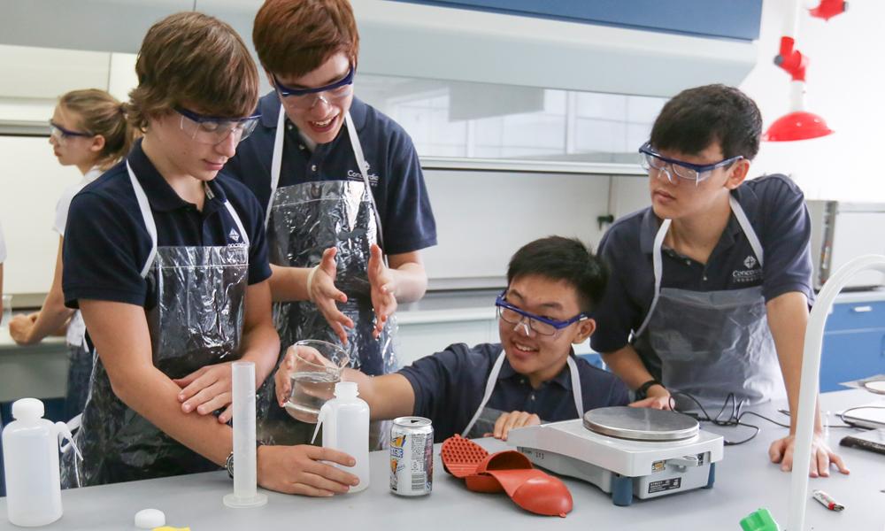 High School Science - Concordia Shanghai