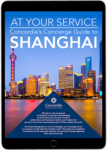 Concordia Concierge guide to the city of Shanghai