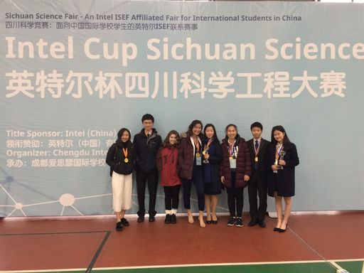 HS Students Take 3 Out of 5 Top Spots at Sichuan Intel Science Fair